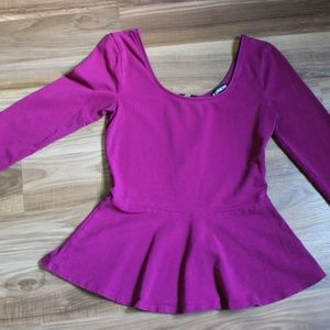 Purple Express Top